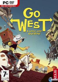 Portada oficial de Lucky Luke: Go West! para PC
