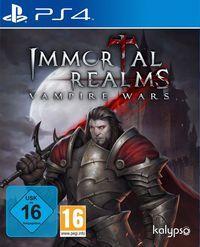 Portada oficial de Immortal Realms: Vampire Wars para PS4