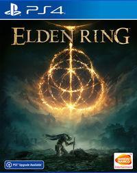 Portada oficial de Elden Ring para PS4