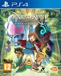 Portada oficial de Ni no Kuni Remastered para PS4
