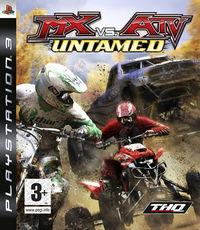 Portada oficial de MX vs ATV Untamed para PS3