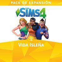 Portada oficial de Los Sims 4: Vida Isleña para PS4