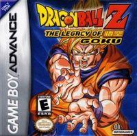 Portada oficial de Dragon Ball Z: The Legacy of Goku para Game Boy Advance