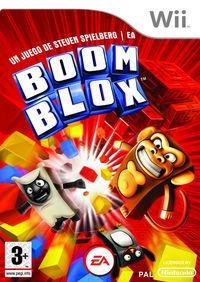 Portada oficial de Boom Blox para Wii