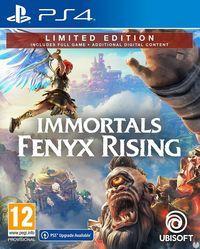 Portada oficial de Immortals Fenyx Rising para PS4
