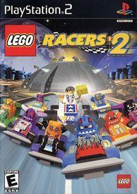 Portada oficial de Lego Racers 2 para PS2