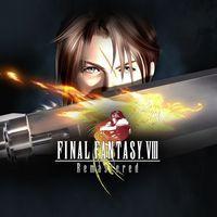 Portada oficial de Final Fantasy VIII Remastered para PS4