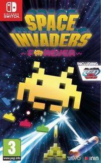Portada oficial de Space Invaders Forever para Switch
