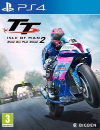 Portada oficial de TT Isle of Man 2 para PS4