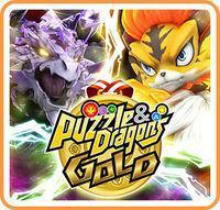 Portada oficial de Puzzle & Dragons Gold para Switch