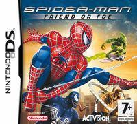 Portada oficial de Spider-Man: Friend or Foe para NDS