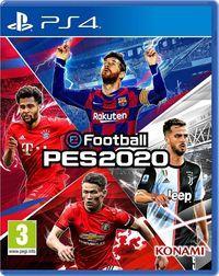 Portada oficial de eFootball PES 2020 para PS4