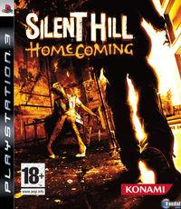 Portada oficial de Silent Hill: Homecoming para PS3