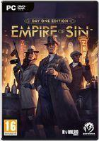 Portada oficial de de Empire of Sin para PC