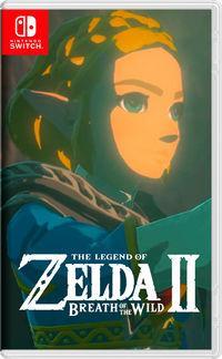 Portada oficial de The Legend of Zelda: Breath of the Wild 2 para Switch