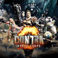 Portada oficial de Contra: Rogue Corps para PS4