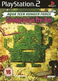 Portada oficial de Aqua Teen Hunger Force Zombie Ninja Pro-Am para PS2
