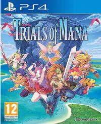 Portada oficial de Trials of Mana para PS4