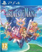 Portada oficial de de Trials of Mana para PS4