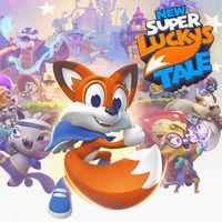 Portada oficial de New Super Lucky's Tale para Switch