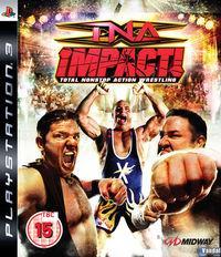 Portada oficial de TNA iMPACT! para PS3