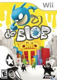 Portada oficial de de Blob para Wii