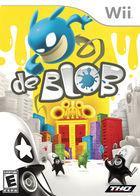 Portada oficial de de de Blob para Wii