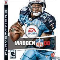 Portada oficial de Madden NFL 08 para PS3