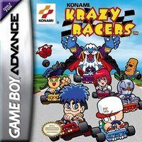 Portada oficial de Konami Krazy Racers para Game Boy Advance