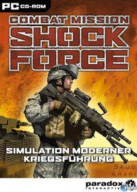Portada oficial de Combat Mission: Shock Force para PC