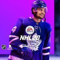 Portada oficial de NHL 20 para PS4