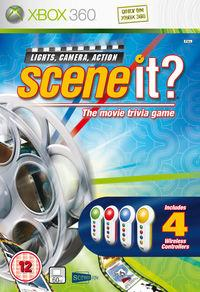 Portada oficial de Scene It para Xbox 360