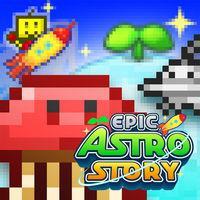 Portada oficial de Epic Astro Story para Switch