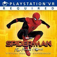 Portada oficial de Spider-Man: Far From Home Virtual Reality para PS4