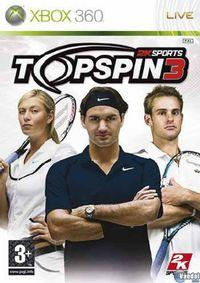 Portada oficial de Top Spin 3 para Xbox 360