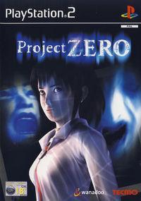 Portada oficial de Project ZERO para PS2