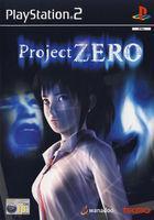 Portada oficial de de Project ZERO para PS2