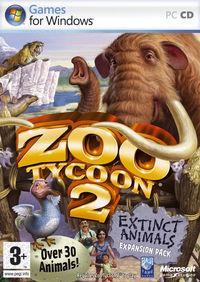 Portada oficial de Zoo Tycoon 2: Extinct Animals para PC