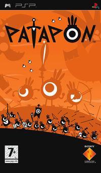 Portada oficial de Patapon para PSP