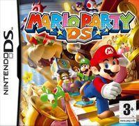 Portada oficial de Mario Party DS para NDS