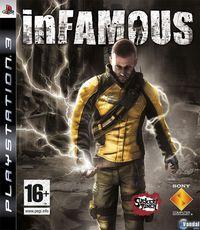 Portada oficial de inFamous para PS3