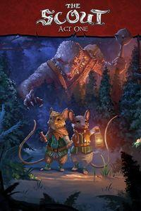 Portada oficial de The Lost Legends of Redwall: The Scout para Xbox One