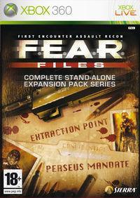 Portada oficial de F.E.A.R. Files para Xbox 360