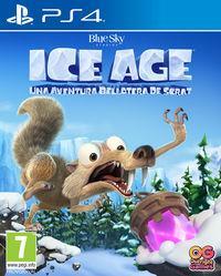 Portada oficial de Ice Age: Scrat's Nutty Adventure para PS4