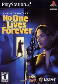Portada oficial de No One Lives Forever para PS2