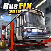 Portada oficial de Bus Fix 2019 para Switch
