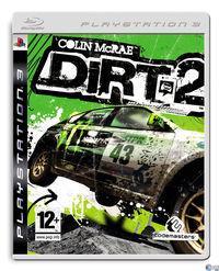 Portada oficial de Colin McRae: DIRT 2 para PS3