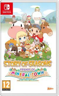 Portada oficial de Story of Seasons: Friends of Mineral Town para Switch