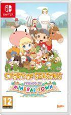 Portada oficial de de Story of Seasons: Friends of Mineral Town para Switch