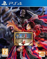 Portada oficial de One Piece: Pirate Warriors 4 para PS4